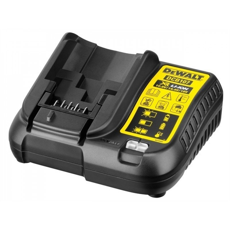 Cargador Bateria Dewalt 12v 20v Ion Litio Dcb107 40mi