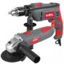 Combo Laser Amoladora 115mm 700w + Taladro 13mm 700w