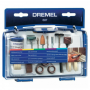 Set Kit De Accesorios Multiuso 52 Piezas Para Mini Torno Dremel 687
