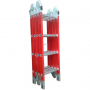Escalera Multiproposito Dieléctrica KLD  4x4 Fibra De Vidrio 16 Peldaños
