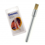 Cepillo De Latón Recto Limpieza y Pulido 3.2mm Dremel 537