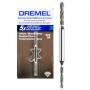 Broca Taladradora 2 en 1 Flit Bit De Diamante Dremel 1.6 y 2.1mm