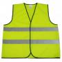 Chaleco De Seguridad Amarillo Fluo Con Bandas Reflectivas