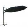Sombrilla Regulable Gigante 3mts Diámetro Lusqtoff - Color Negro
