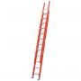 Escalera Dieléctrica Extensible Alpina 28 (14+14) Peldaños 150kgs 7.75mts