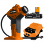 Inflador Automático Inalámbrico Lusqtoff 18v + Cargador y Batería