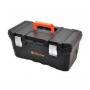 """Caja de Herramientas Tactix 20"""" plástica con organizador y broche metálico"""