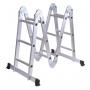 Escalera Aluminio Multipropósito 12 Escalones 4x3 Lusqtoff