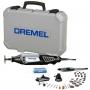 Minitorno Dremel S4000 + Eje Flexible, Maletín y 36 Accesorios